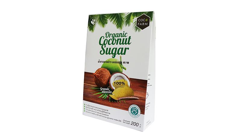 COCO FARM น้ำตาลมะพร้าว ออร์แกนิค