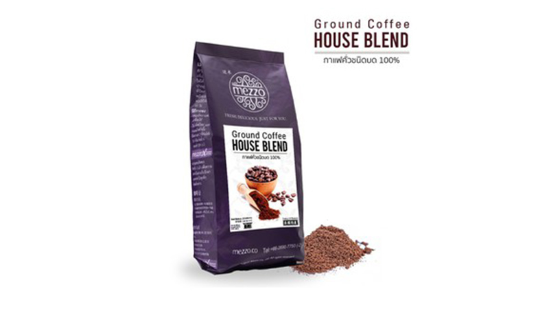 Mezzo Ground Coffee House Blend