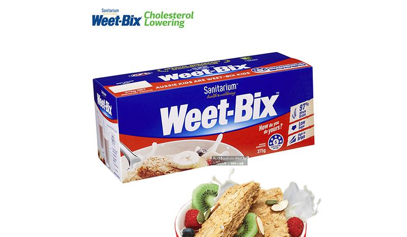 Weet-Bix ซีเรียล ธัญพืชอัดแท่ง