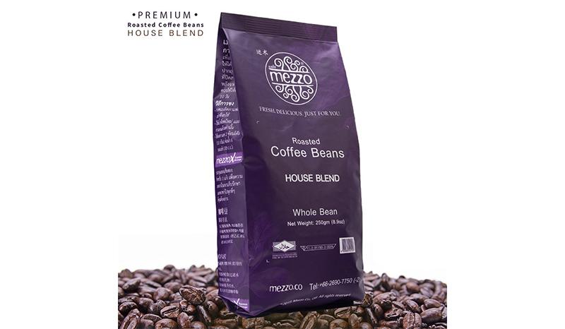 Mezzo Coffee Bean Arabica House Blend