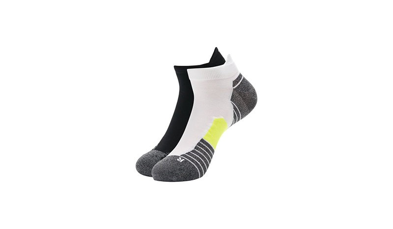 ถุงเท้าวิ่ง UNDER ARMOUR รุ่น Run No Show Tab Unisex Running Socks