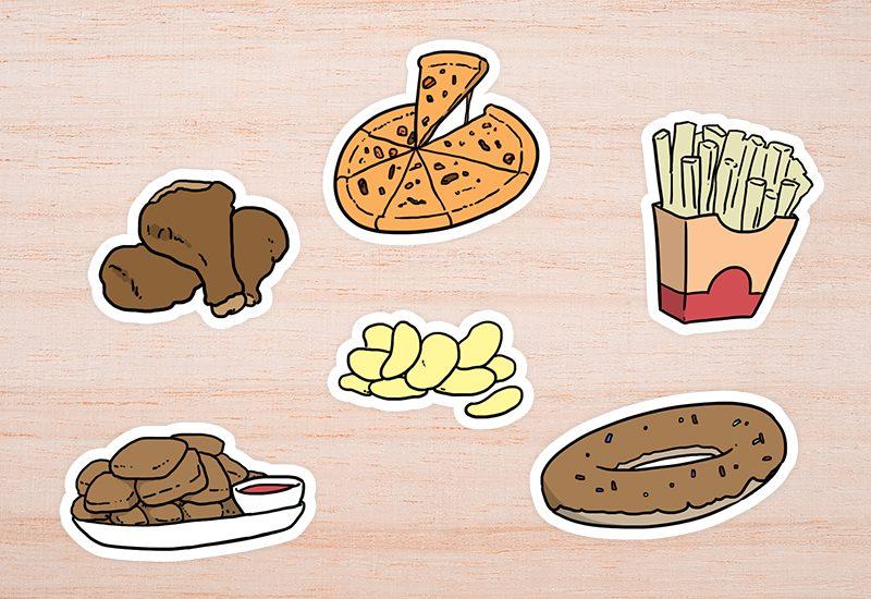 อาหารต้องห้าม ขณะลดน้ำหนัก