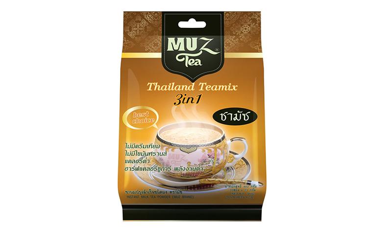 ชาเย็นปรุงสำเร็จ MUZ ชาไทยแคลอรีต่ำ