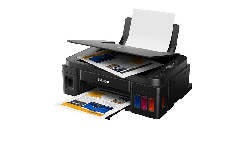 เครื่องปริ้นท์ Canon printer inkjet PIXMA G2010