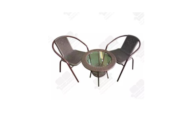 โต๊ะในสวน NDL ชุดโต๊ะน้ำชากลางแจ้ง