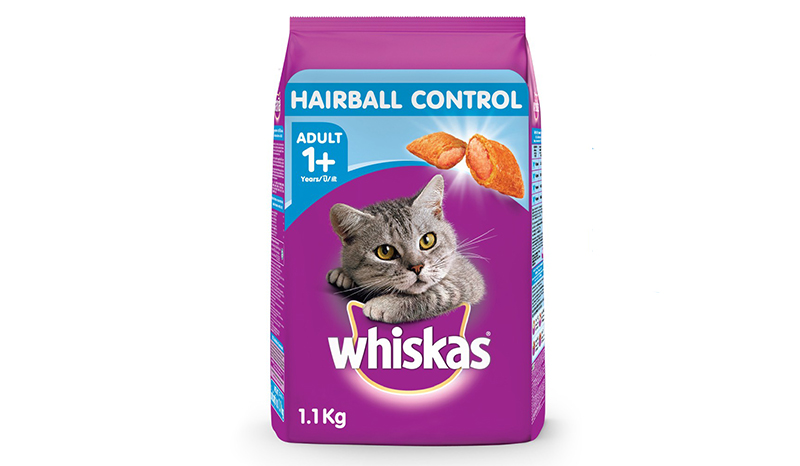 Whiskas Adult Hairball Control Chicken and Tuna Flavour
