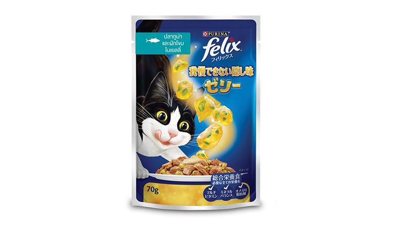Felix อาหารเปียกแมวโต