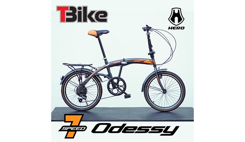 จักรยานพับได้ HERO รุ่น ODESSY