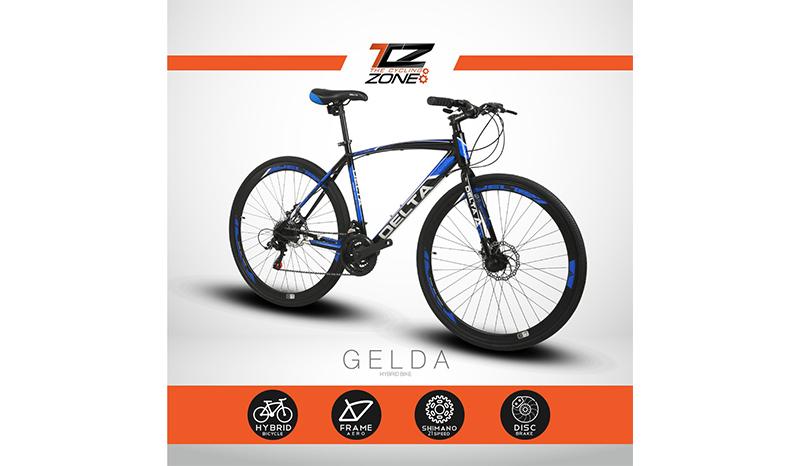 จักรยานไฮบริด DELTA GELDA