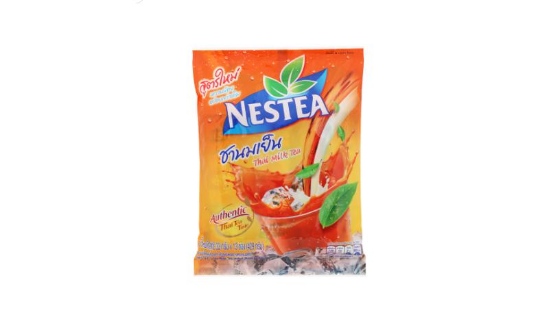 ชาเย็นปรุงสำเร็จ Nestea ชานมเย็นปรุงสำเร็จชนิดผง