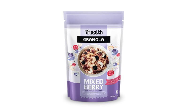 iHealth Granola รส Mixed Berry