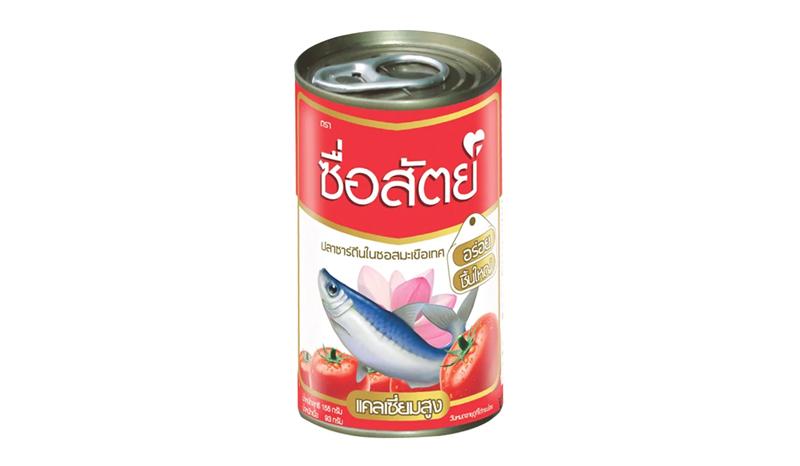 ปลากระป๋อง ซื่อสัตย์ ปลาซาร์ดีนในซอสมะเขือเทศ