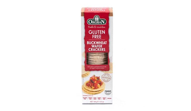 ORGRAN Buckwheat Wafer Crackers