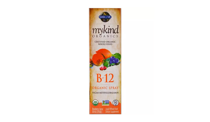 Garden of Life B12 MyKind Organics, B-12 Organic Spray, Raspberry, 2 oz (58 ml)