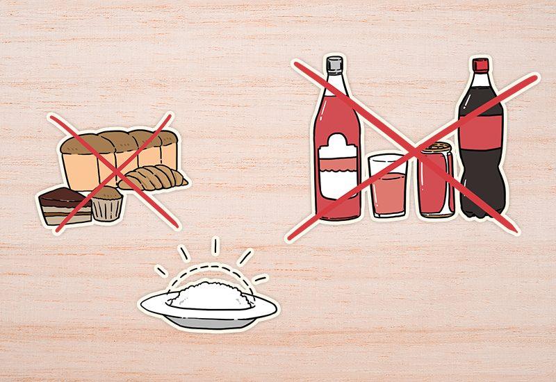 ควบคุมอาหารเพื่อลดน้ำหนัก