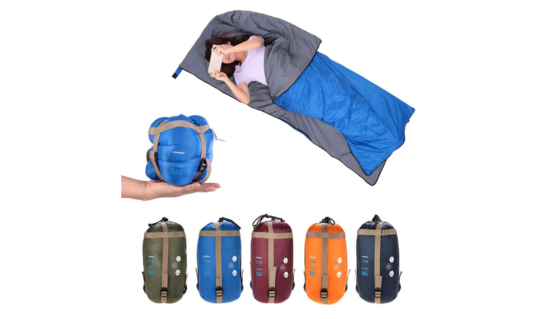 Lixada Envelope Outdoor Sleeping Bag Camping Travel Hiking Multifuntion Ultra-light