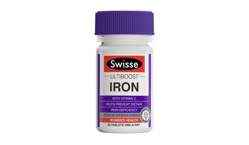 อาหารเสริมธาตุเหล็ก Swisse Ultiboost Iron