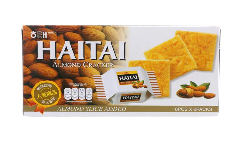 HAITAI CRACKERS ALMONDS
