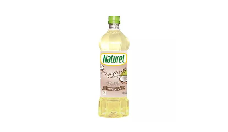 น้ำมันมะพร้าว Naturel 100% Coconut Cooking Oil