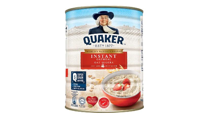 ข้าวโอ๊ต Quaker ข้าวโอ๊ต สูตรปรุงสำเร็จ