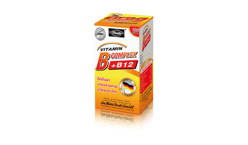 Bode Vit B Complex +B12 100's