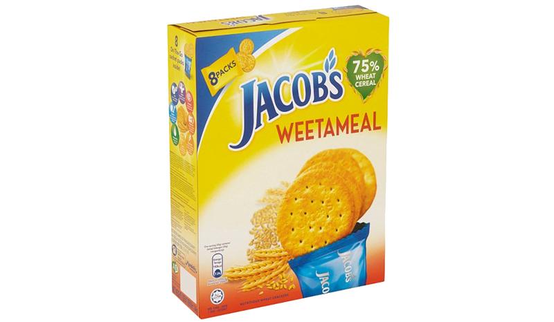JACOB'S WEETAMEAL WHEAT CRACKERS