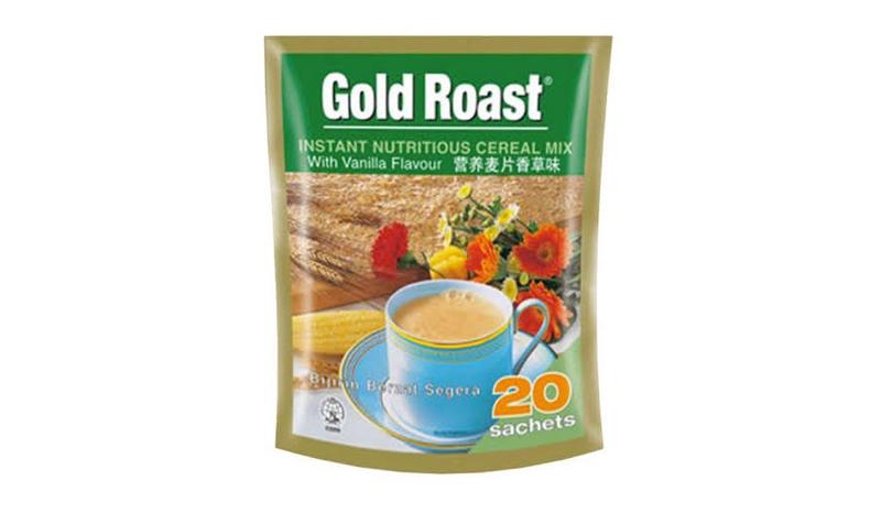 ข้าวโอ๊ต Gold Roast Instant Nutritious Cereal Mix