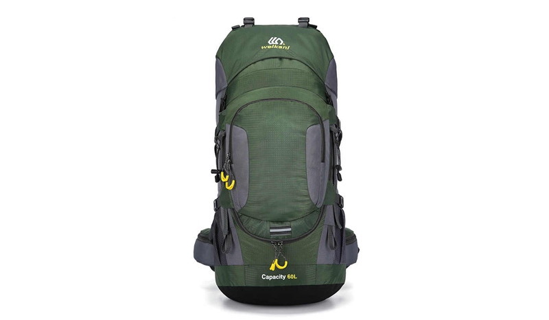 WEIKANI Hiking backpack สำหรับเดินทางไกล (60L)