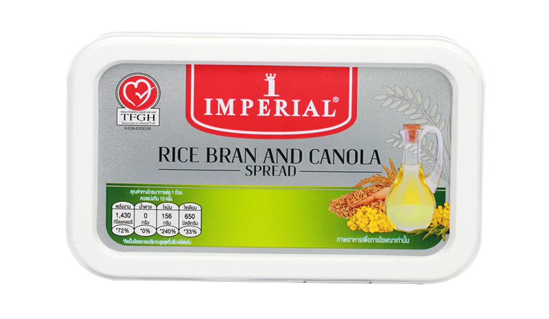Imperial Rice Bran and Canola Spread