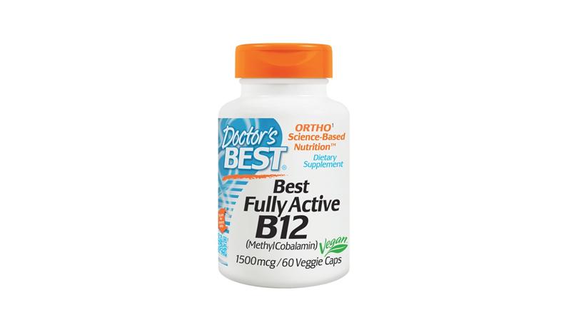 Doctor's Best Fully Active B12, 1,500 mcg, 60 Veggie Caps
