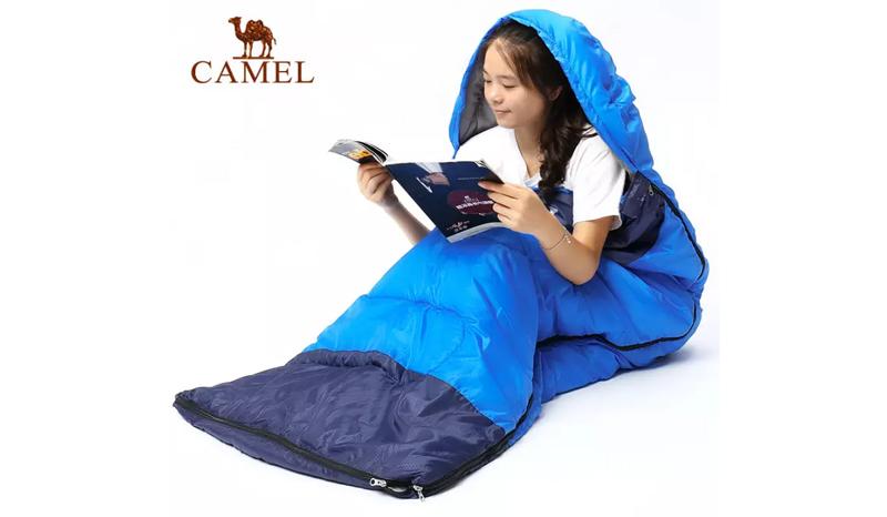 Camel Waterproof Outdoor Camping Sleeping Bag