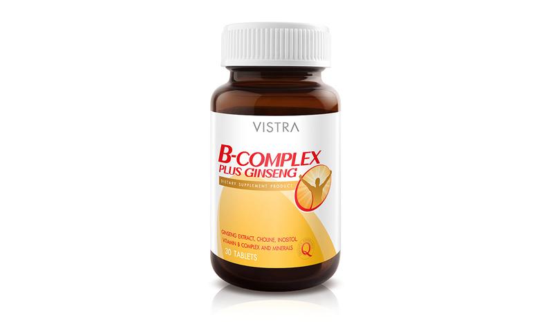 Vistra B Complex plus Ginseng