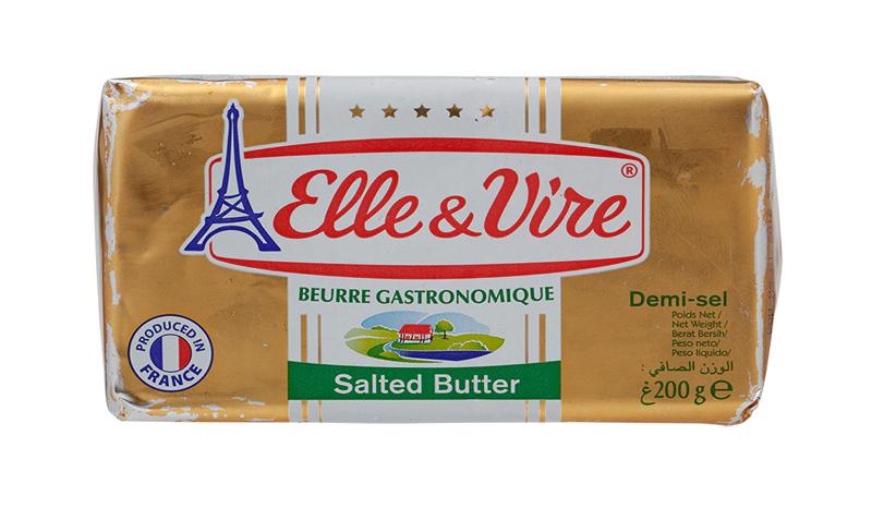 เนยสดรสเค็ม Elle&Vire Salted Butter