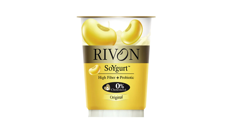 RIVON โยเกิร์ตถั่วเหลือง รสออริจินัล