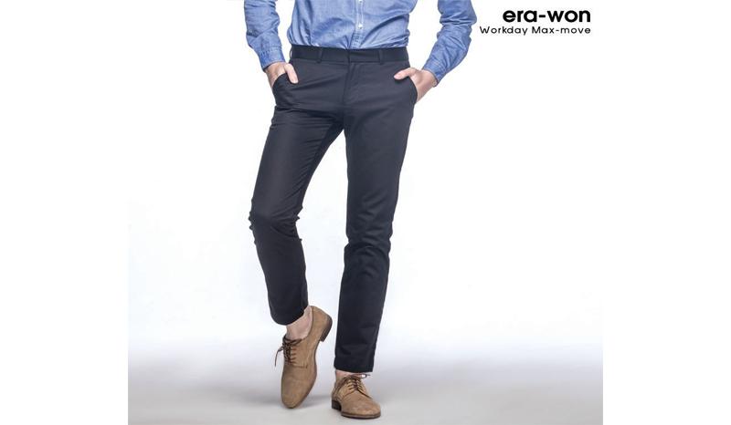 era-won กางเกงสแล็คชายรุ่น Workday Max Move