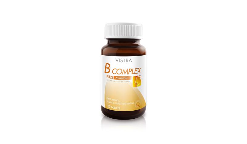 Vistra B-Complex Plus Minerals