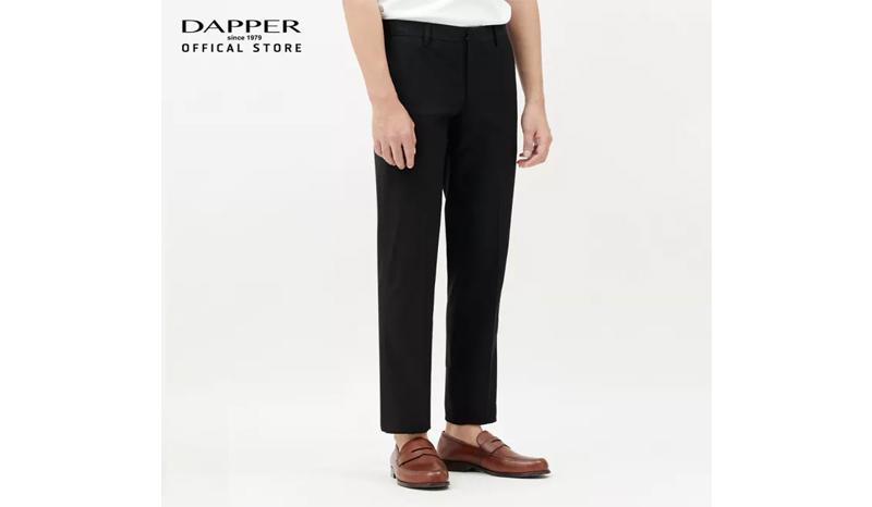 DAPPER กางเกงสแล็คชายสำหรับใส่ทำงาน ทรง Skinny-Fit Stretch