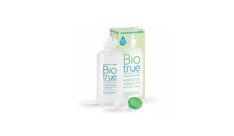 น้ำยาล้างคอนแทคเลนส์ BAUSCH & LOMB BioTrue