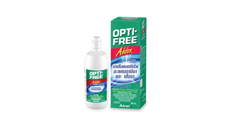 น้ำยาล้างคอนแทคเลนส์ OPTI-FREE Aldox