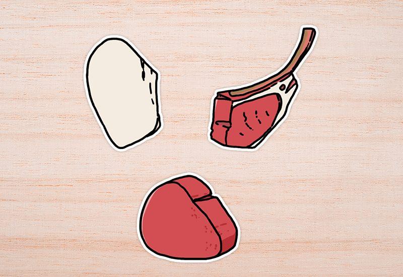 อาหารประเภทเนื้อสัตว์ที่ลดไตรกลีเซอไรด์ได้