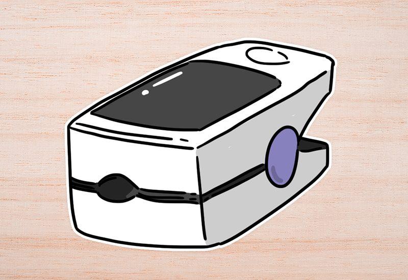 เครื่องวัดออกซิเจนปลายนิ้ว (Pulse oximeter) คืออะไร?