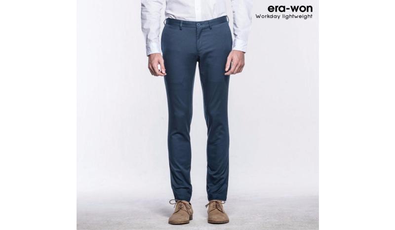era-won กางเกงสแล็คขายาว