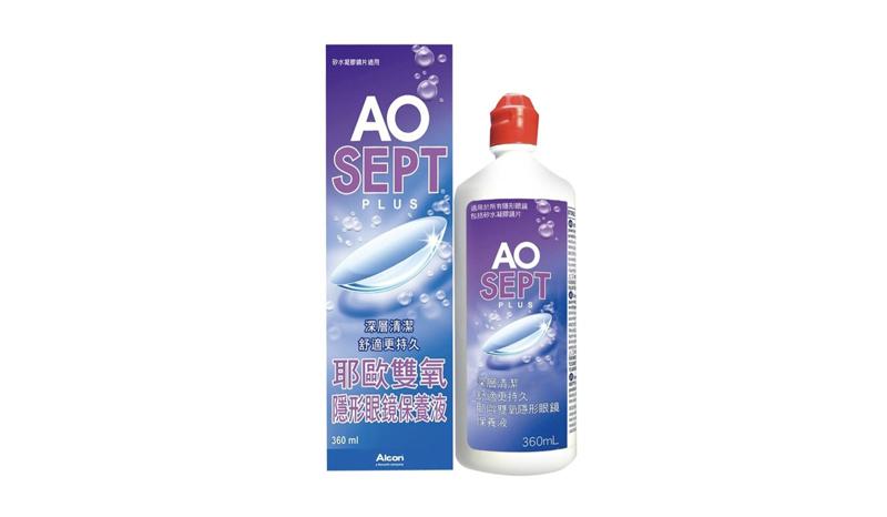 น้ำยาล้างคอนแทคเลนส์ ALCON AOSEPT Clear Care ALCON