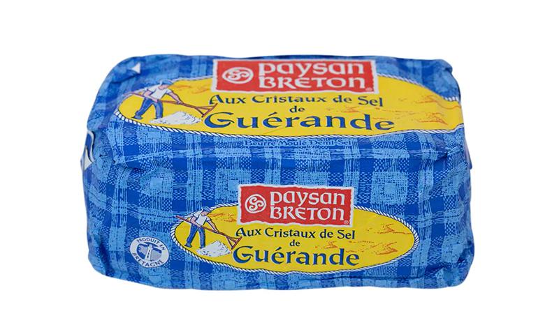 เนยสดรสเค็ม Paysan Breton Aux Cristaux de Sel de Guérande