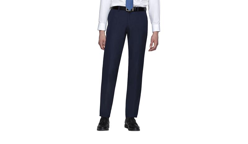 GQ กางเกงสแล็คชายขายาว สำหรับทำงาน รุ่น Slacks Long Pants TR Fabric Solid 130-810770