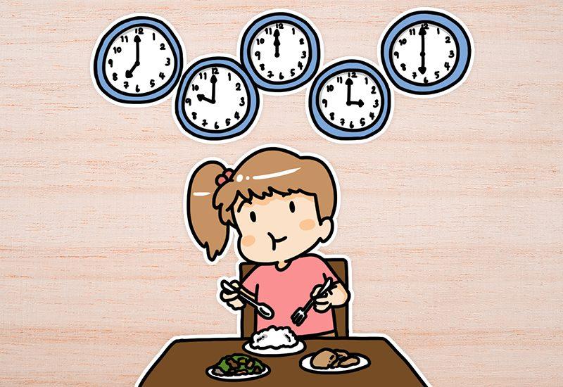 แบ่งมื้ออาหารให้ถี่ขึ้น