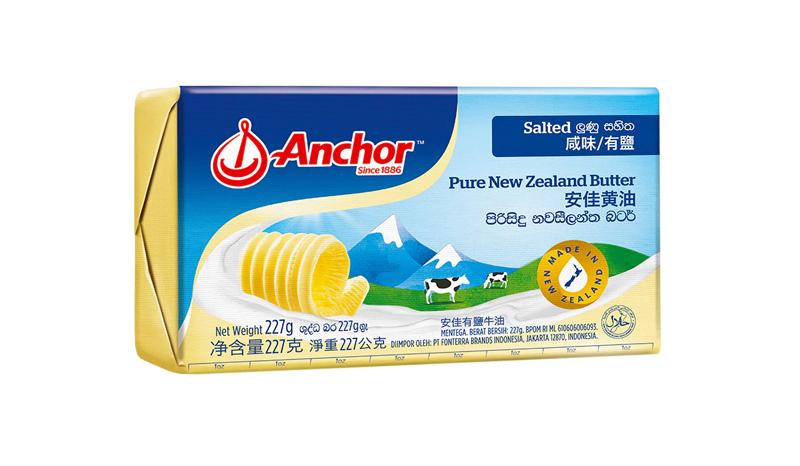 เนยสดรสเค็ม Anchor Pure New Zealand Butter Salted
