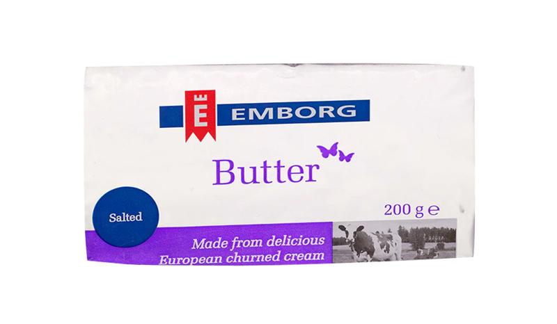เนยสดรสเค็ม Emborg Salted Butter