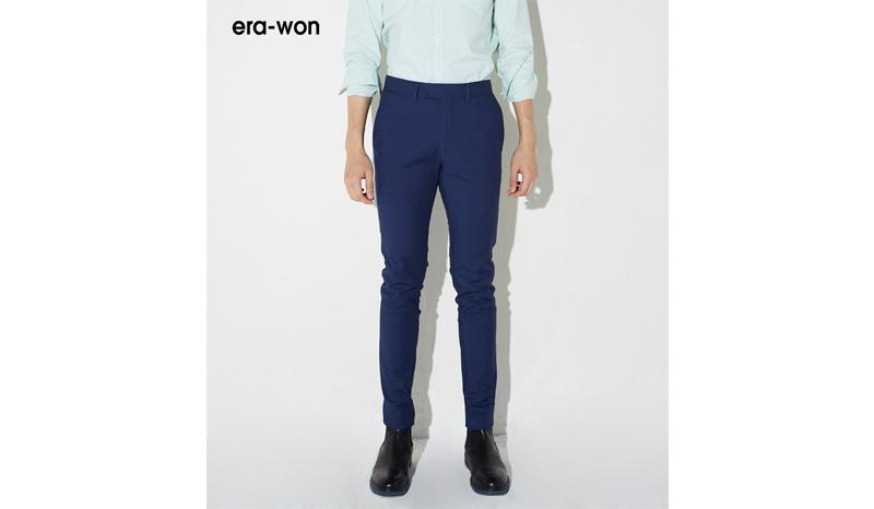 กางเกงสแล็คขายาว Anti-bacterial รุ่น Super Skinny Korean Fabric