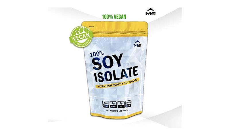 MS SOY ISOLATE เวย์ซอยโปรตีนถั่วเหลือง